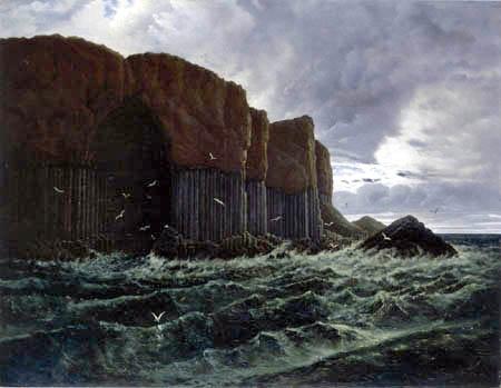 Carl Gustav Carus - Le île de Staffa