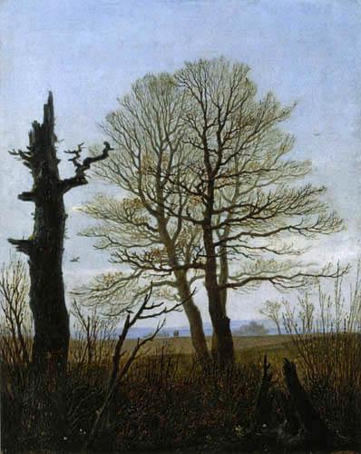 Carl Gustav Carus - Landscape in Early Spring