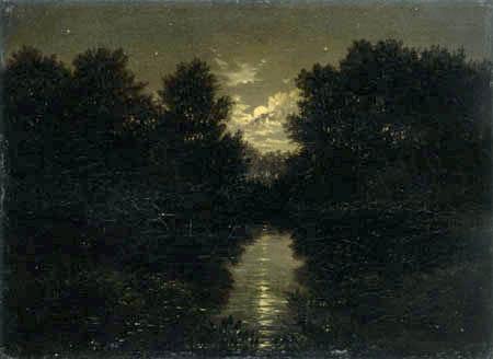 Carl Gustav Carus - Moonlight Landscape