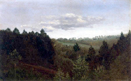 Carl Gustav Carus - Forest Landscape
