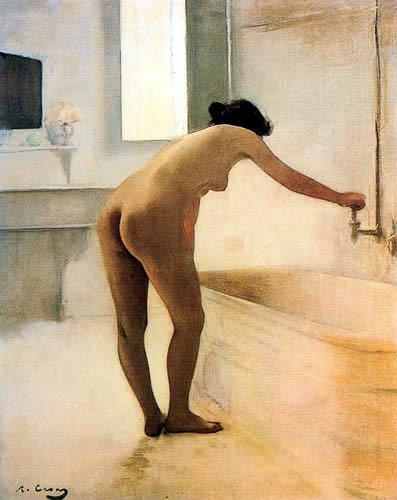 Ramon Casas i Carbó - Au bain