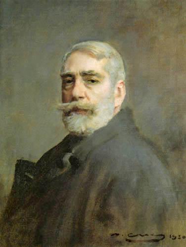 Ramon Casas i Carbó - Selfportrait
