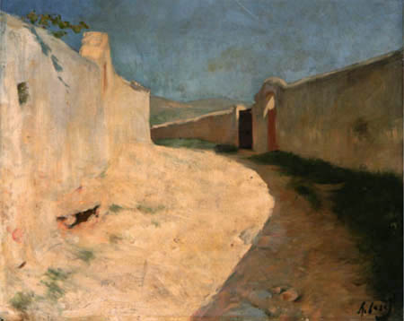 Ramón Casas i Carbó - Camino del Vinyet