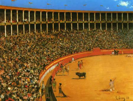 Ramon Casas i Carbó - The Bullfight