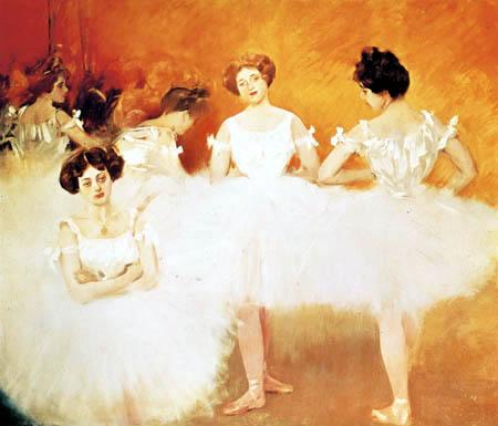 Ramon Casas i Carbó - Ballerinas