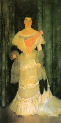 Ramon Casas i Carbó - Portrait Montserrat Casas