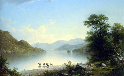 John William Casilear - Lake George