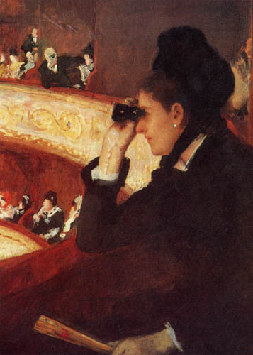 Mary Cassatt - In der Oper