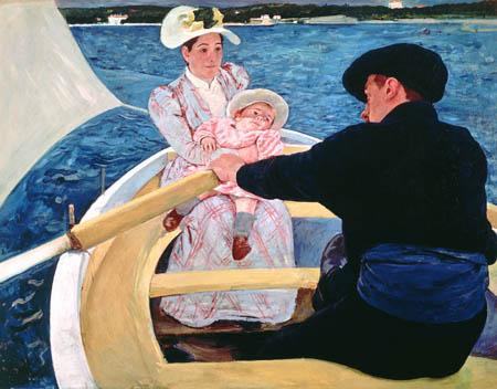 Mary Cassatt - The boat trip