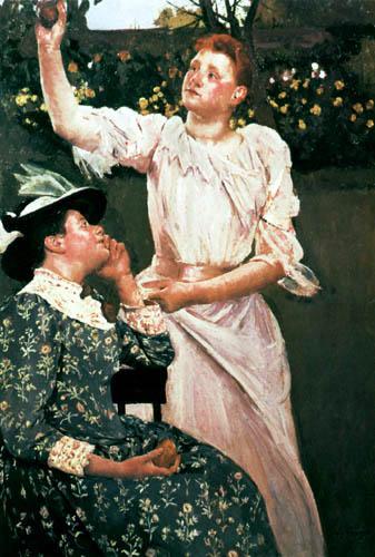 Mary Cassatt - Young Woman