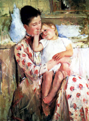 Mary Cassatt - Emmi and his child