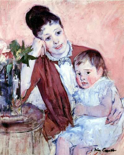 Mary Cassatt - Madame H. de Fleury and her Child