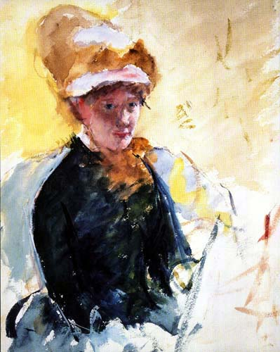 Mary Cassatt - Self-portrait
