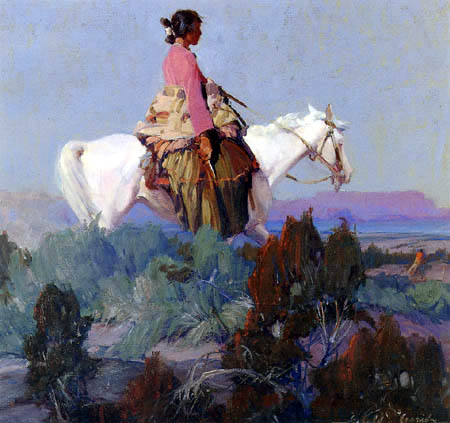 Ira Diamond Gerald Cassidy - Shepherdess of the Hills