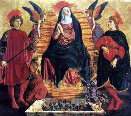 Andrea del Castagno - Assumption