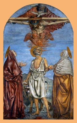 Andrea del Castagno - St. Trinity