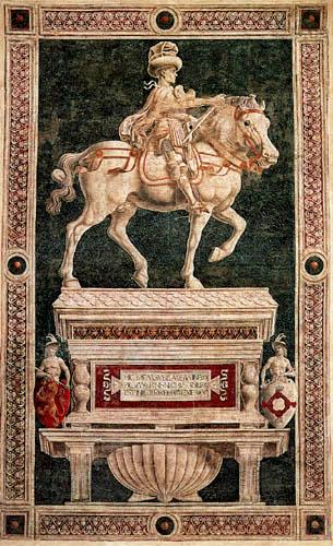Andrea del Castagno - Niccolò da Tolentino