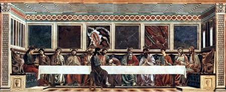 Andrea del Castagno - The Lord´s Supper