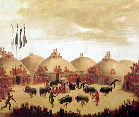 George Catlin - The Bull Dance
