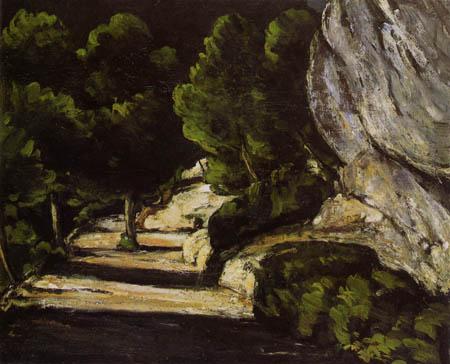 Paul Cézanne (Cezanne) - Rocky landscape