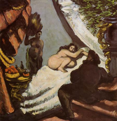 Paul Cézanne (Cezanne) - A modern Olympia