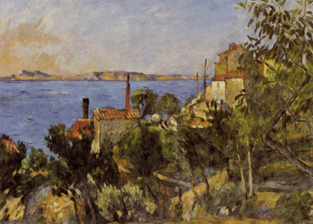 Paul Cézanne (Cezanne) - The Sea nearby L Éstaque