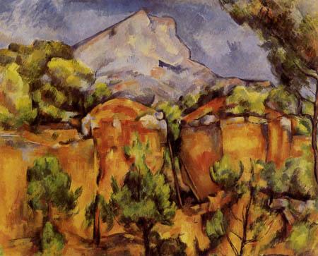 Paul Cézanne (Cezanne) - Die Montagne Sainte-Victoire
