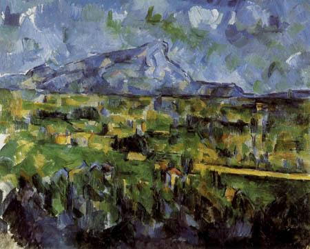 Paul Cézanne (Cezanne) - Montagne Sainte-Victoire