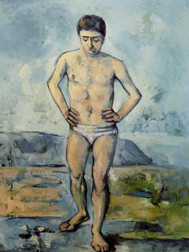 Paul Cézanne (Cezanne) - Der grosse Badende