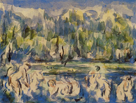Paul Cézanne (Cezanne) - The bathing