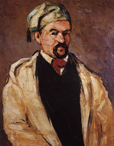 Paul Cézanne (Cezanne) - The man with the blue cap