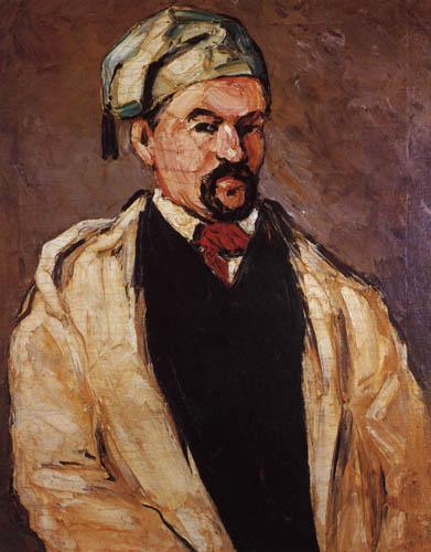 Paul Cézanne (Cezanne) - Der Mann mit der blauen Mütze