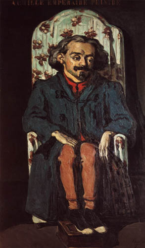 Paul Cézanne (Cezanne) - Portrait of the painter Achille Emperaire