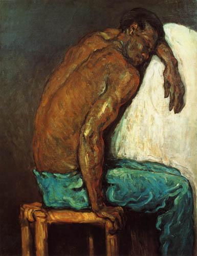 Paul Cézanne (Cezanne) - Bildnis des Schwarzen Scipion
