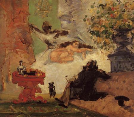 Paul Cézanne (Cezanne) - Eine moderne Olympia
