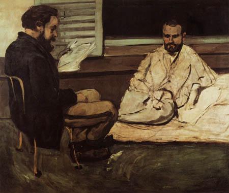Paul Cézanne (Cezanne) - Paul Alexis liest Zola vor