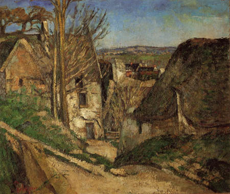 Paul Cézanne (Cezanne) - The house of the hang