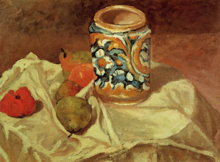 Paul Cézanne (Cezanne) - The Italian faience