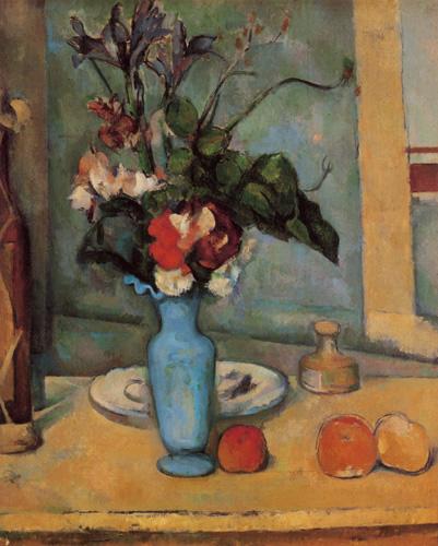 Paul Cézanne (Cezanne) - Die blaue Vase