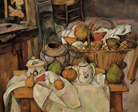 Paul Cézanne (Cezanne) - Kitchen Table