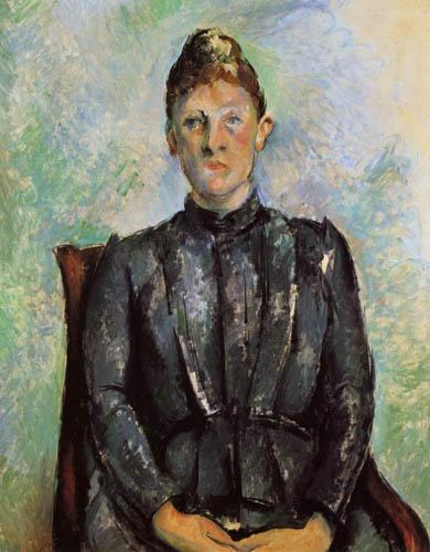 Paul Cézanne (Cezanne) - Bildnis Madame Cezanne