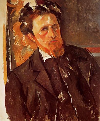 Paul Cézanne (Cezanne) - Bildnis Joachim Gasquet