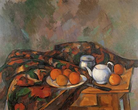 Paul Cézanne (Cezanne) - Still Life with Teapot