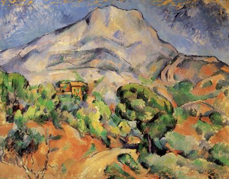 Paul Cézanne (Cezanne) - Mont Sainte-Victoire