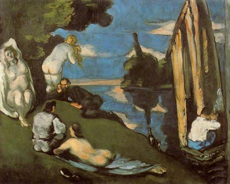 Paul Cézanne (Cezanne) - Pastorale