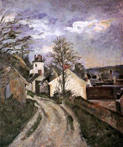 Paul Cézanne (Cezanne) - The House of Dr. Gachet in Auvers