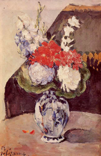 Paul Cézanne (Cezanne) - Flower vase