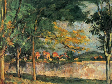 Paul Cézanne (Cezanne) - The street