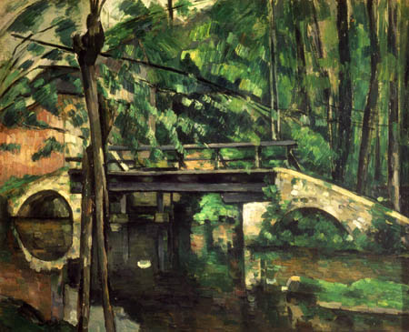 Paul Cézanne (Cezanne) - Die Brücke in Maincy