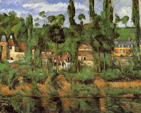 Paul Cézanne (Cezanne) - Das Chateau de Medan